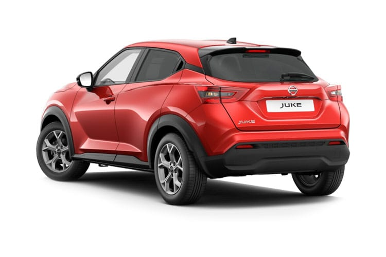 Nissan Juke SUV 1.0 DIG-T 117PS Acenta 5Dr DCT Auto [Start Stop] back view