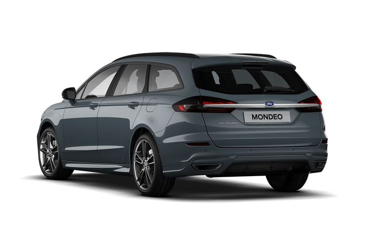 Ford Mondeo Estate 2.0 TiVCT HEV 187PS Titanium Edition 5Dr CVT [Start Stop] back view