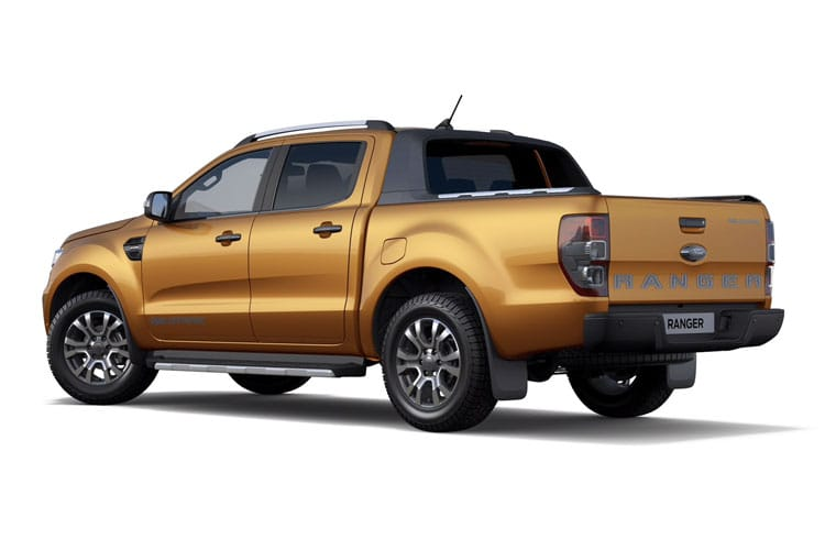 Ford Ranger PickUp Double Cab 4wd 2.0 EcoBlue 4WD 170PS Limited Pickup Double Cab Manual [Start Stop] back view