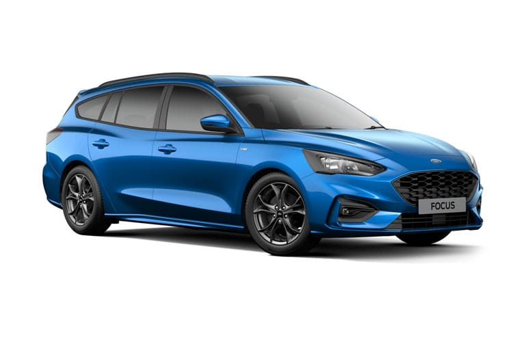 Ford Focus Estate 2.0 EcoBlue 150PS Titanium X Edition 5Dr Auto [Start Stop] front view