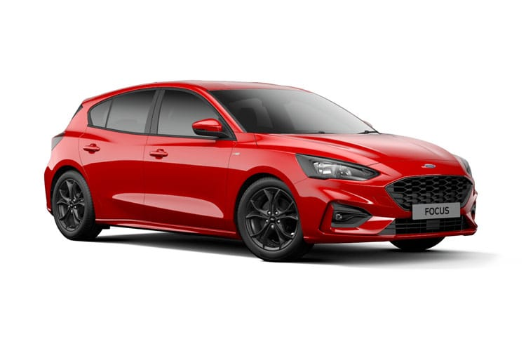 Ford Focus Hatch 5Dr 1.0 T EcoBoost MHEV 125PS Active Edition 5Dr Manual [Start Stop] front view