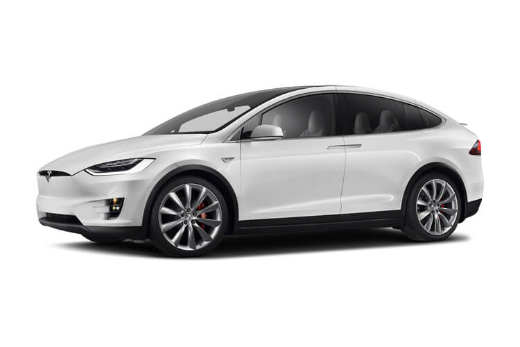 Tesla Model X SUV 5Dr Dual Motor Elec 311KW 417PS Long Range Plus 5Dr Auto front view