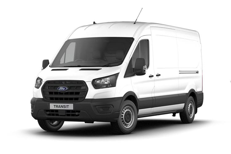 Ford Transit 350 L3 2.0 EcoBlue FWD 105PS Leader Van High Roof Manual [Start Stop] front view