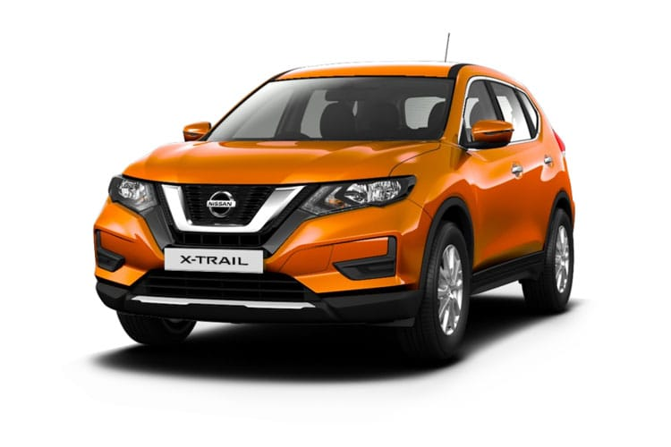 Nissan X-Trail SUV FWD 1.3 DIG-T 160PS N-Connecta 5Dr DCT Auto [Start Stop] [7Seat] front view