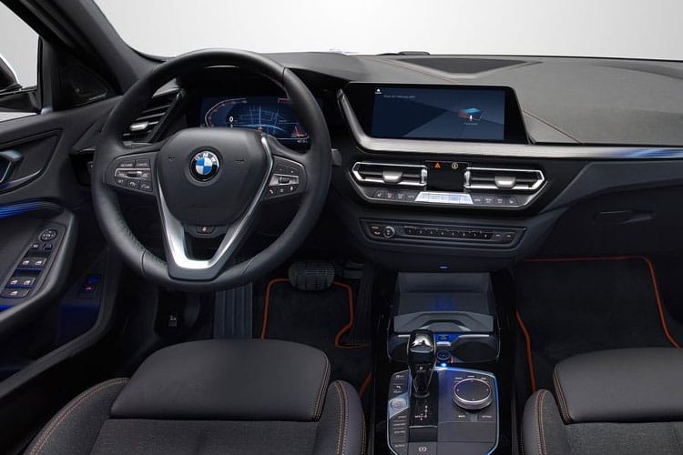 BMW 1 Series 116 Hatch 5Dr 1.5 d 116PS M Sport 5Dr DCT [Start Stop] [Tech I Plus] inside view
