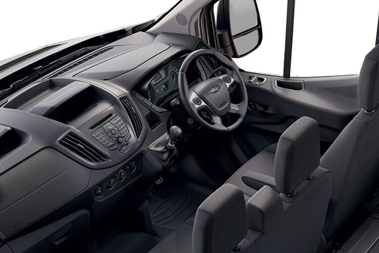 Ford Transit 350 L4 RWD 2.0 EcoBlue RWD 130PS Leader Luton Manual [Start Stop] inside view