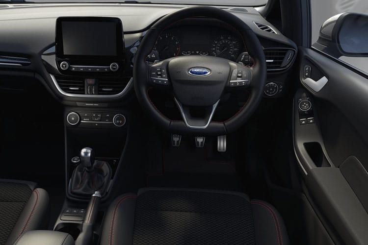 Ford Fiesta Hatch 5Dr 1.0 T EcoBoost MHEV 125PS Vignale Edition 5Dr Manual [Start Stop] inside view