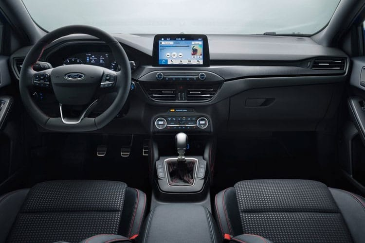 Ford Focus Hatch 5Dr 1.0 T EcoBoost MHEV 125PS Active Edition 5Dr Manual [Start Stop] inside view