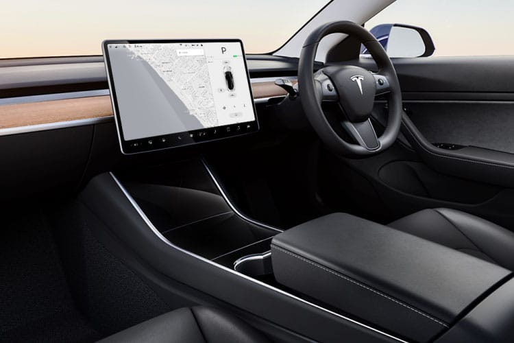 Tesla Model 3 4Dr Dual Motor Elec 335KW 449PS Performance 4Dr Auto [Performance Upgrade] inside view
