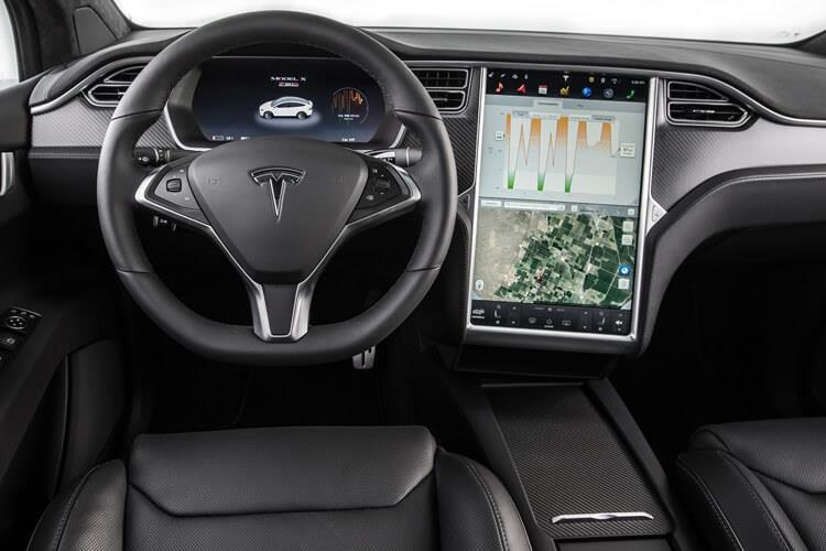 Tesla Model X SUV 5Dr Dual Motor Elec 311KW 417PS Long Range 5Dr Auto inside view