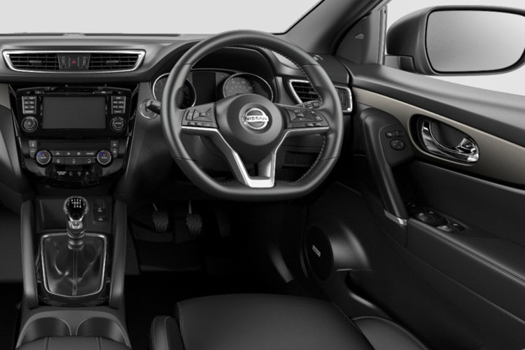 Nissan Qashqai SUV 2wd 1.3 MHEV DIG-T 140PS N-Connecta 5Dr Manual [Start Stop] inside view