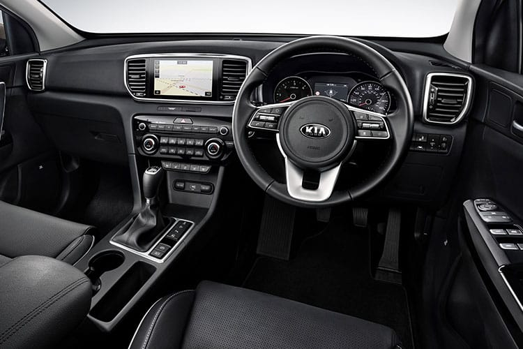 Kia Sportage SUV AWD 1.6 CRDi MHEV 134PS GT Line 5Dr DCT [Start Stop] inside view