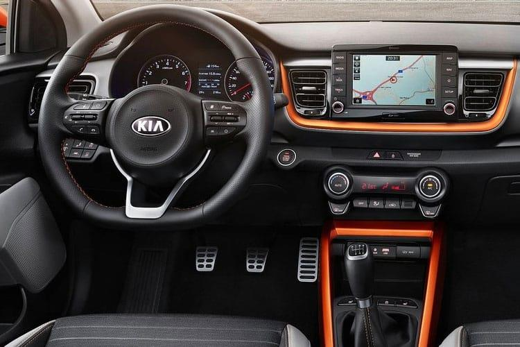 Kia Stonic SUV 5Dr 1.0 T-GDi MHEV 118PS GT Line 5Dr Manual [Start Stop] inside view
