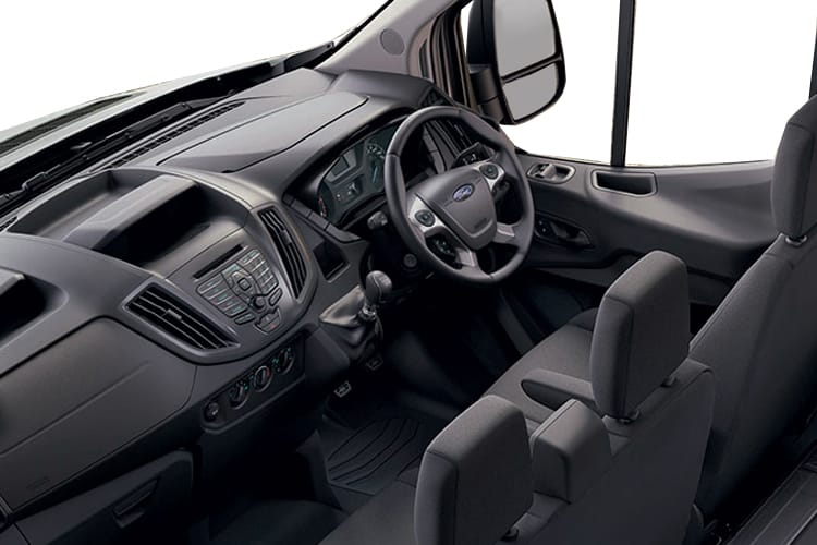 Ford Transit 350 L3 RWD 2.0 EcoBlue RWD 170PS Leader Tipper Double Cab Manual [Start Stop] [3Way 1Stop] inside view