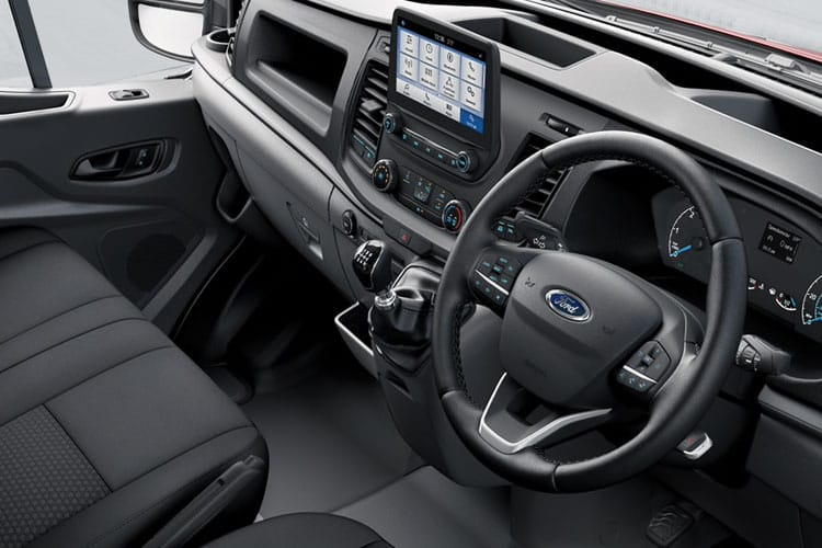 Ford Transit 350 L3 2.0 EcoBlue MHEV FWD 130PS Trend Crew Van High Roof Manual [Start Stop] [DCiV] inside view
