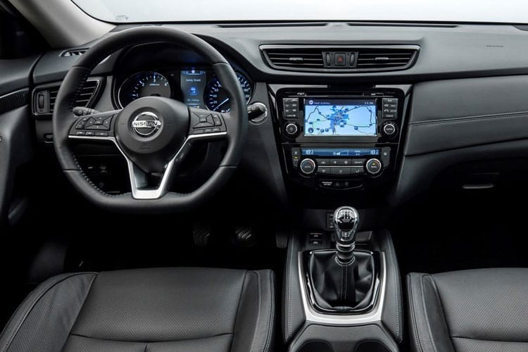 Nissan X-Trail SUV FWD 1.3 DIG-T 160PS N-Connecta 5Dr DCT Auto [Start Stop] [7Seat] inside view